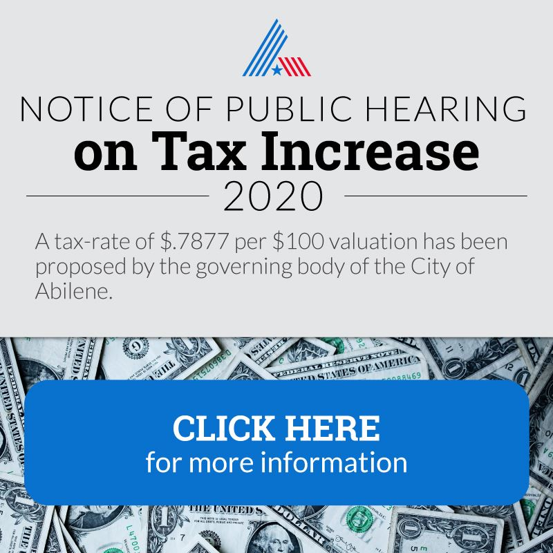 Tax Increase Notice