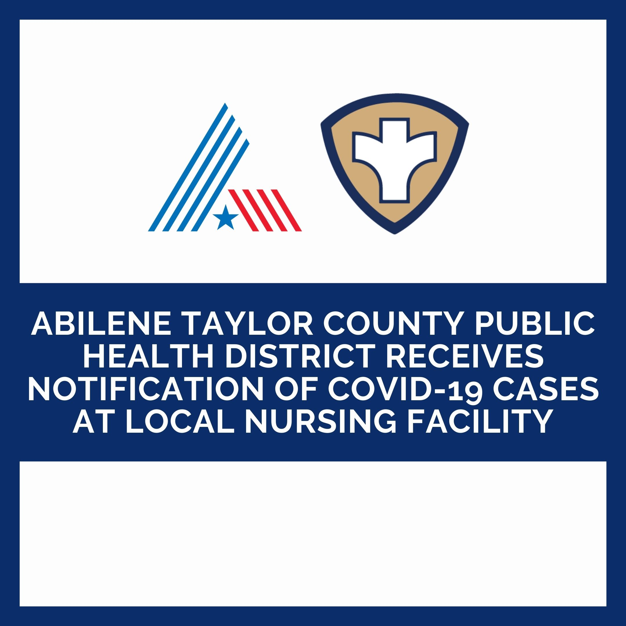 Health District receives notification of positive COVID-19 test results from local nursing facility
