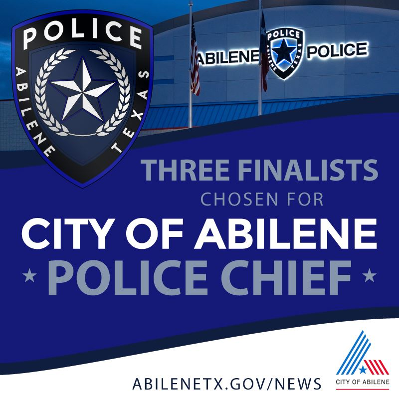 Chief of Police finalists