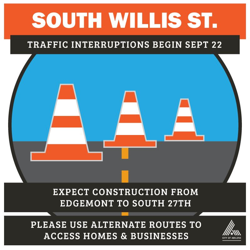 Road Repairs - South Willis from Edgemont to South 27th