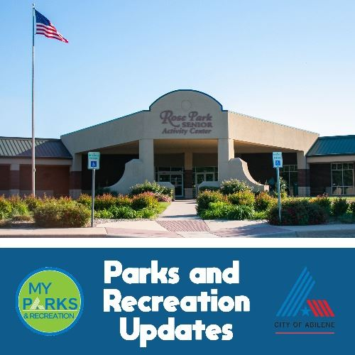parks and recreation updates