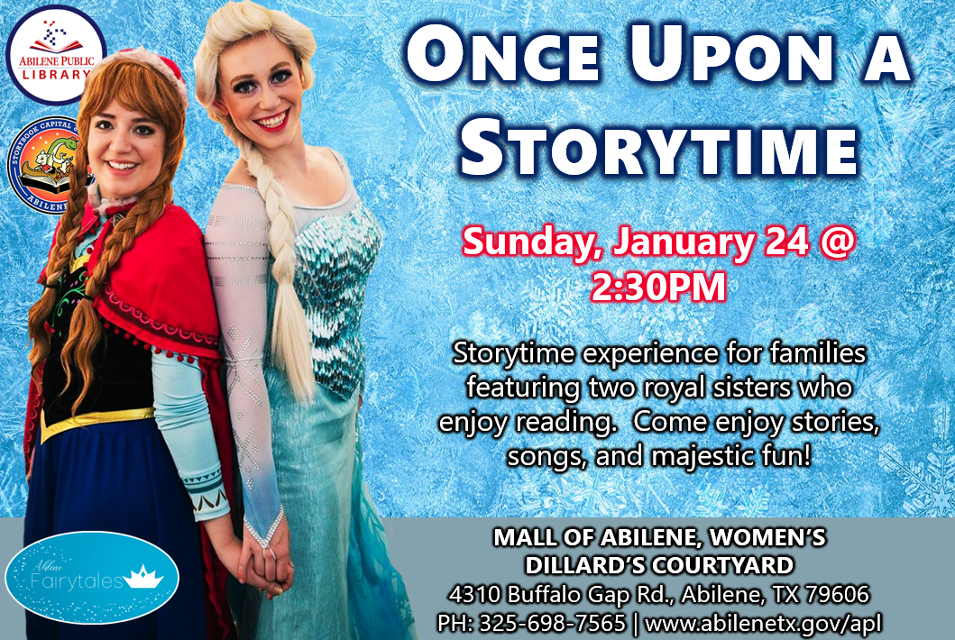 01-24 Once Upon a Storytime
