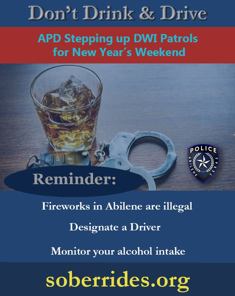 New Years Eve DWI Enforcement