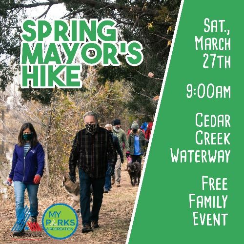 Spring Mayors Hike Abilene Texas