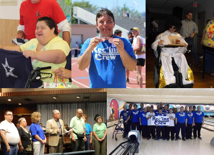 Collage of Adaptive Recreation Activities
