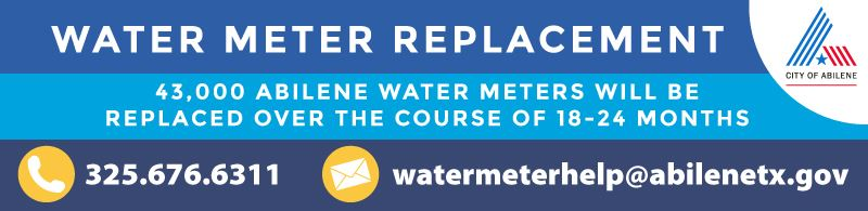 Water Meter Replacement Banner