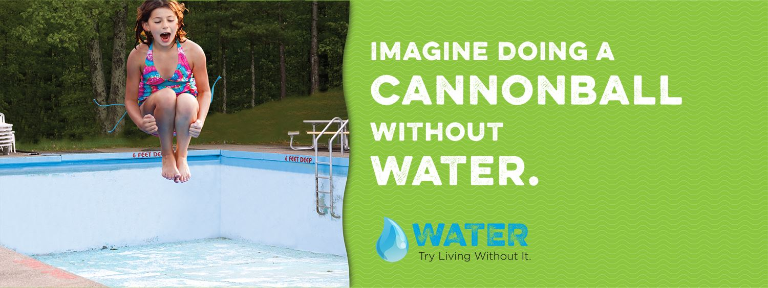 Imagine Doing a Cannonball Without Water