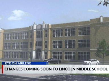 Lincoln Middle School Exterior Shot