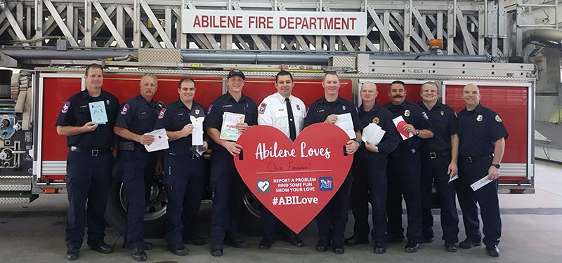 Abilene Loves Our Fire Fighters!