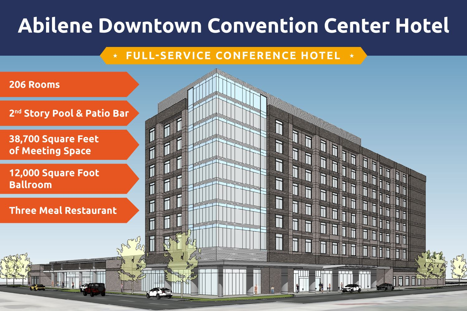 Downtown Convention Center Hotel Specs