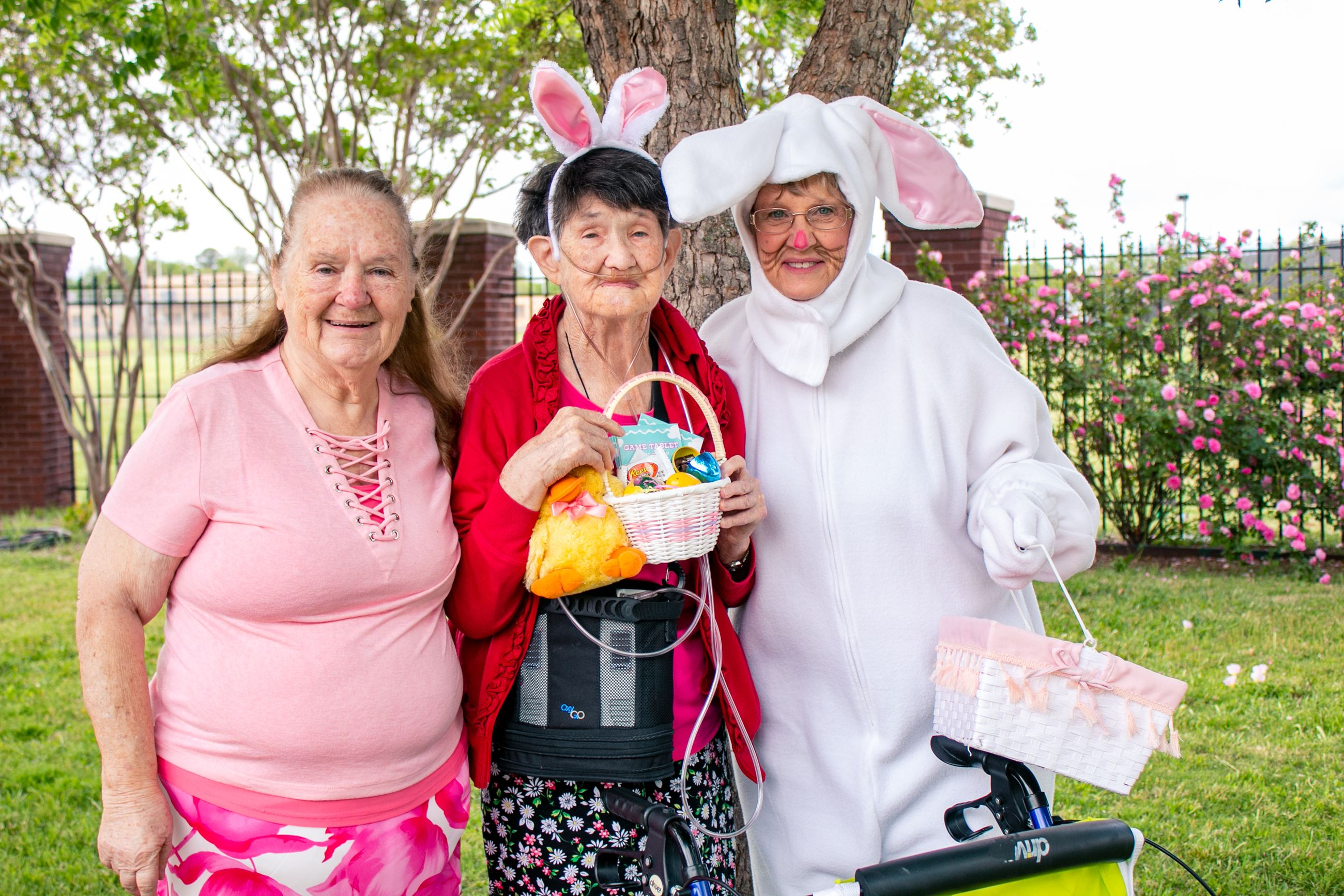 Easter Egg Hunt at Rose Senior Center
