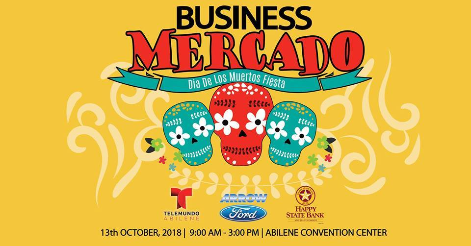 Graphic design promoting Business Mercado 2019
