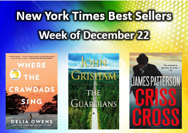 New York Times Best Sellers Dec. 22