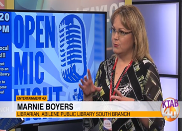Marnie Boyers on KTAB 4U Studios