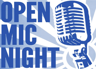 Open Mic Night Graphic