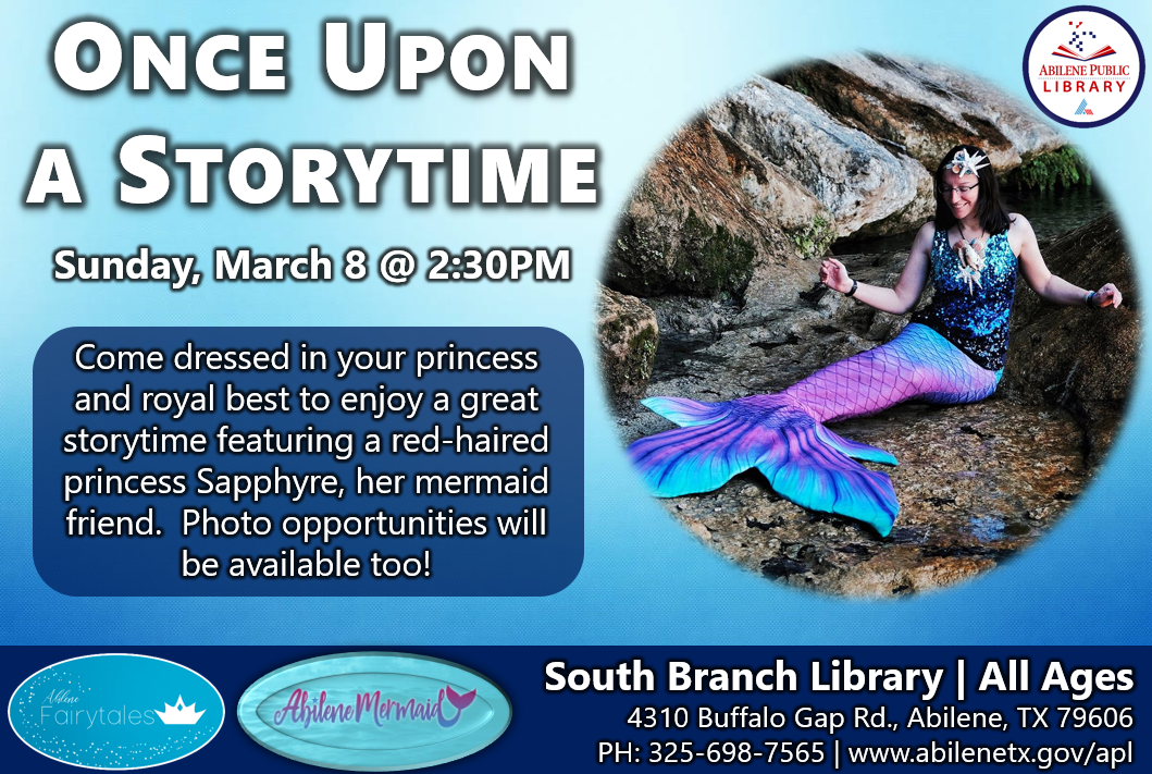 Storytime Infographic with Mermaid