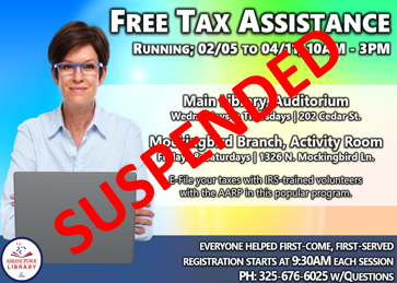Tax-Aide Suspended