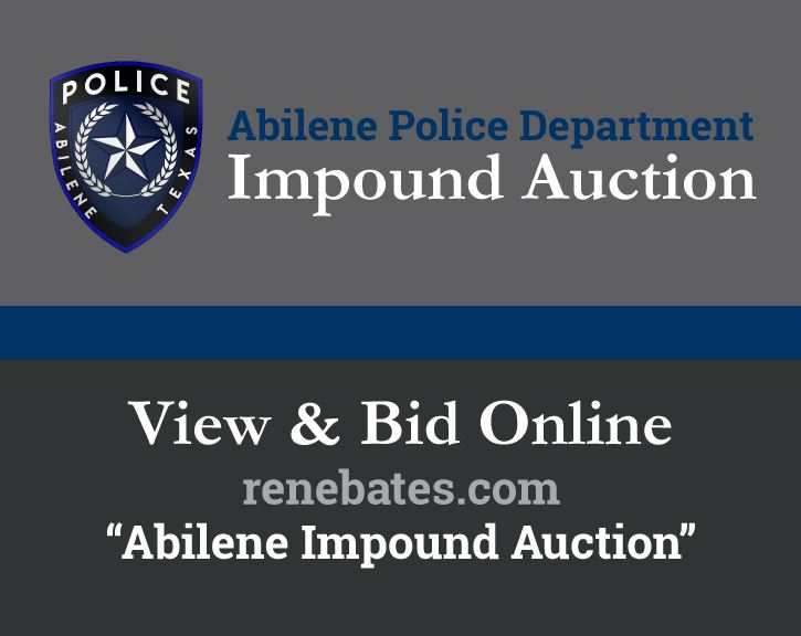 APD Impound Auction Opens May 18 on renebates.com