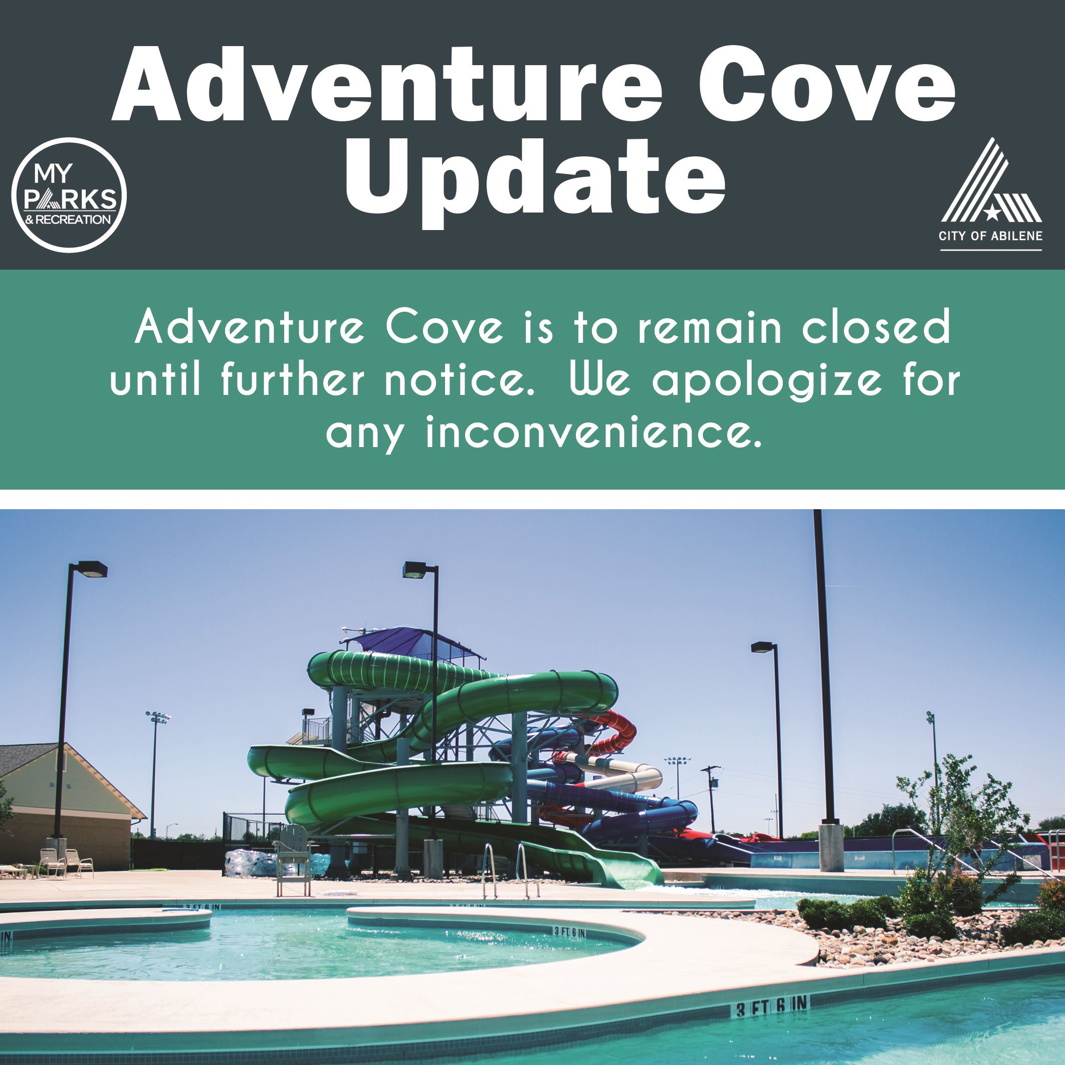 Adventure Cove Update 2020
