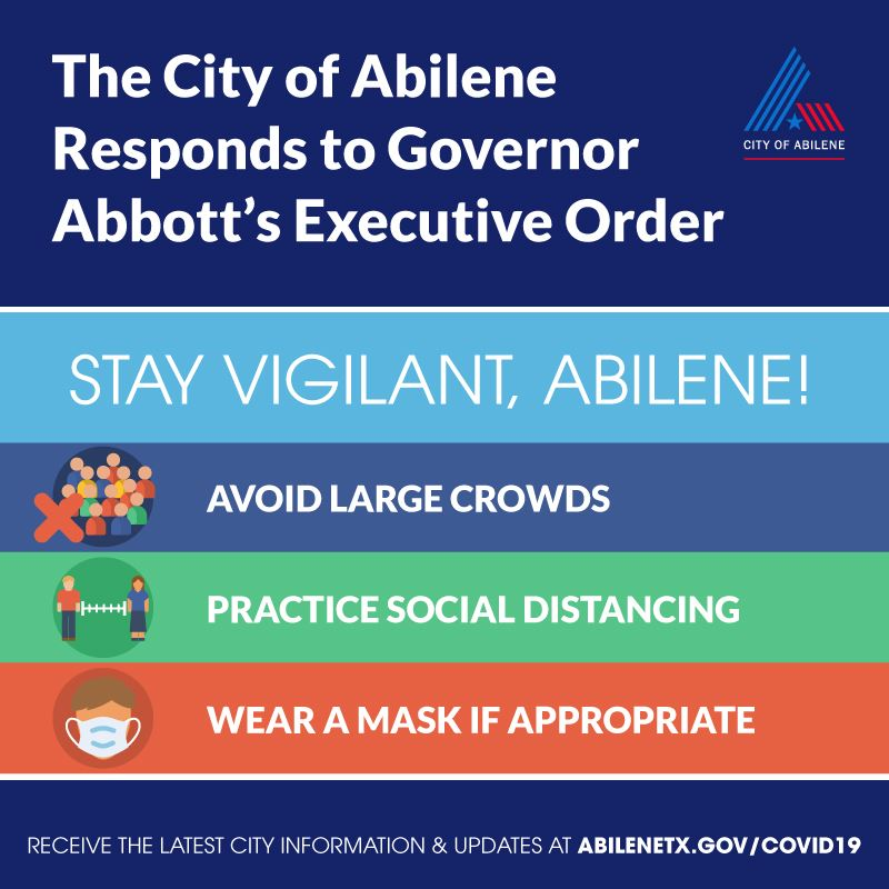The City's response to Governor Abbott's June 26, 2020 Executive Order
