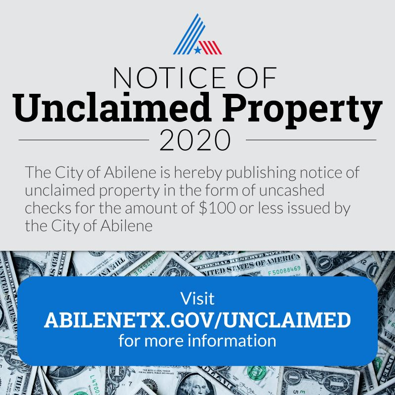 Unclaimed Property Post 2020