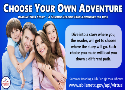 Choose Your Own Adventure Infographic