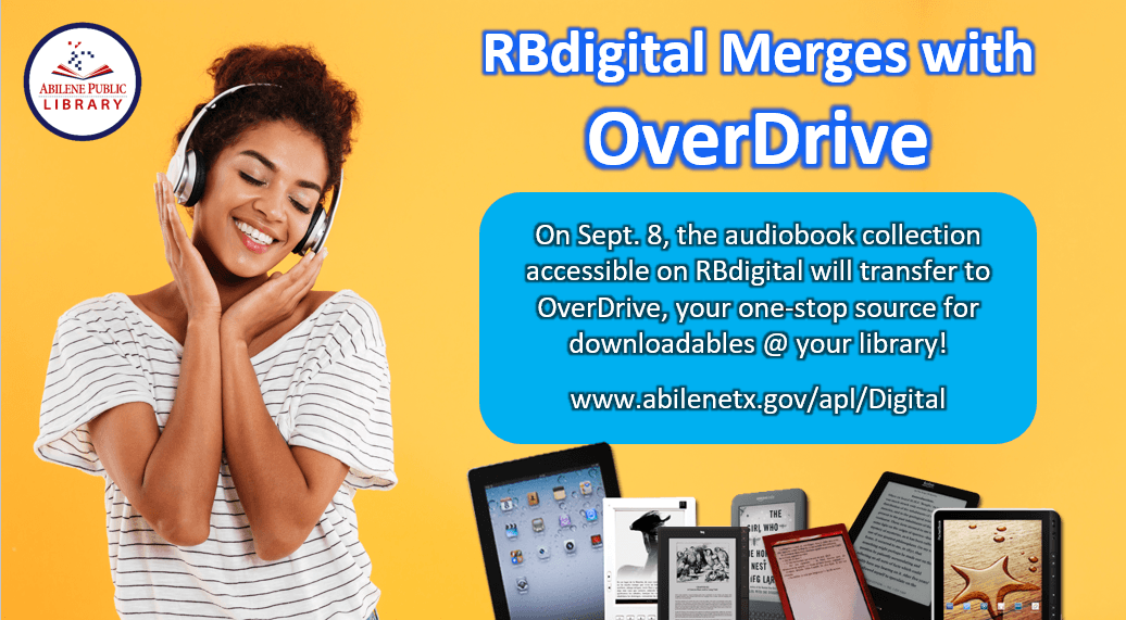 RBdigital and OverDrive