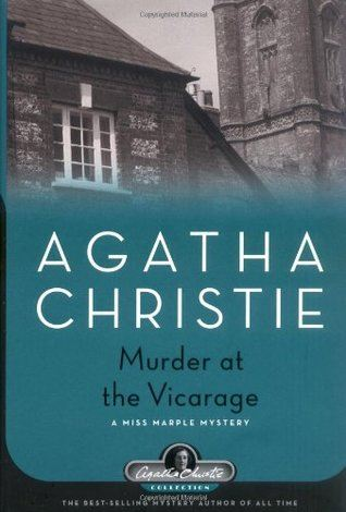 Murder at the Vicarage Book Cover by Agatha Christie