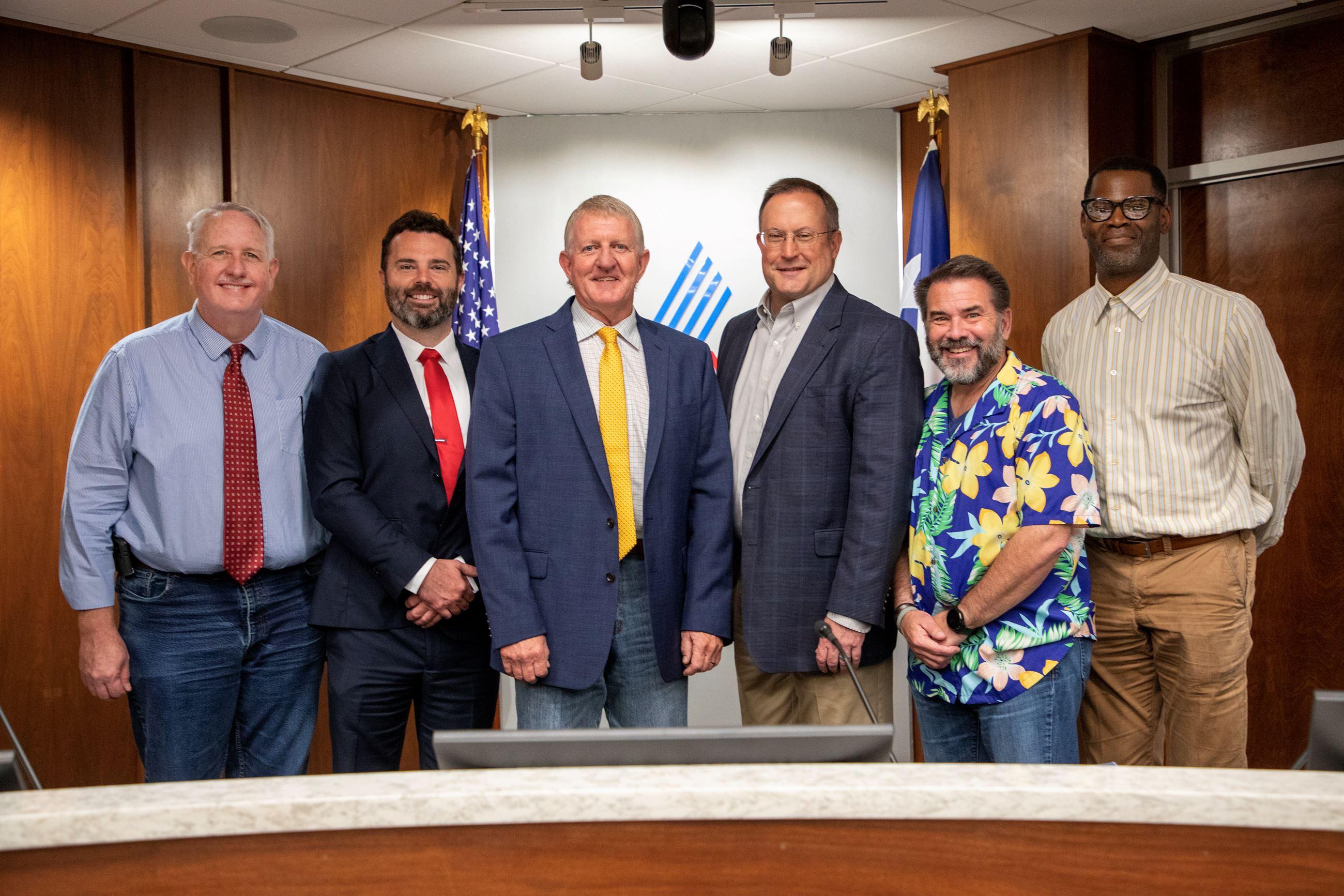 Abilene City Council members 2021