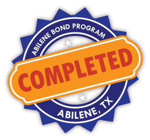 Abilene Bond Program Completion Stamp