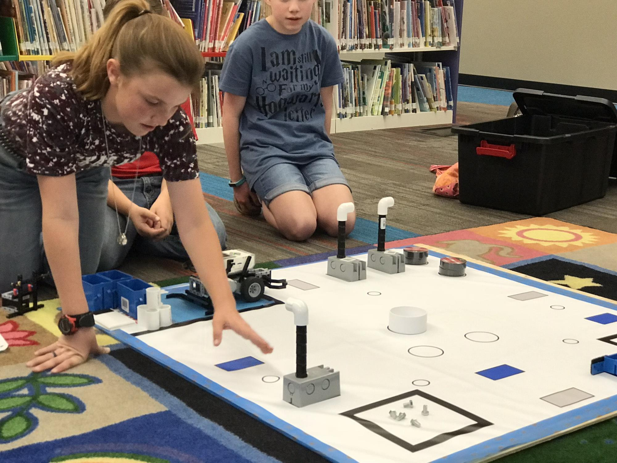 Big Country Home Educators Students Demonstrate Robotics