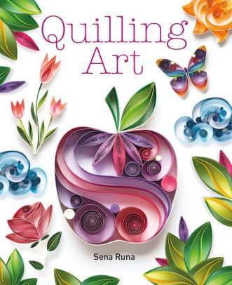 Quilling Art Book Cover