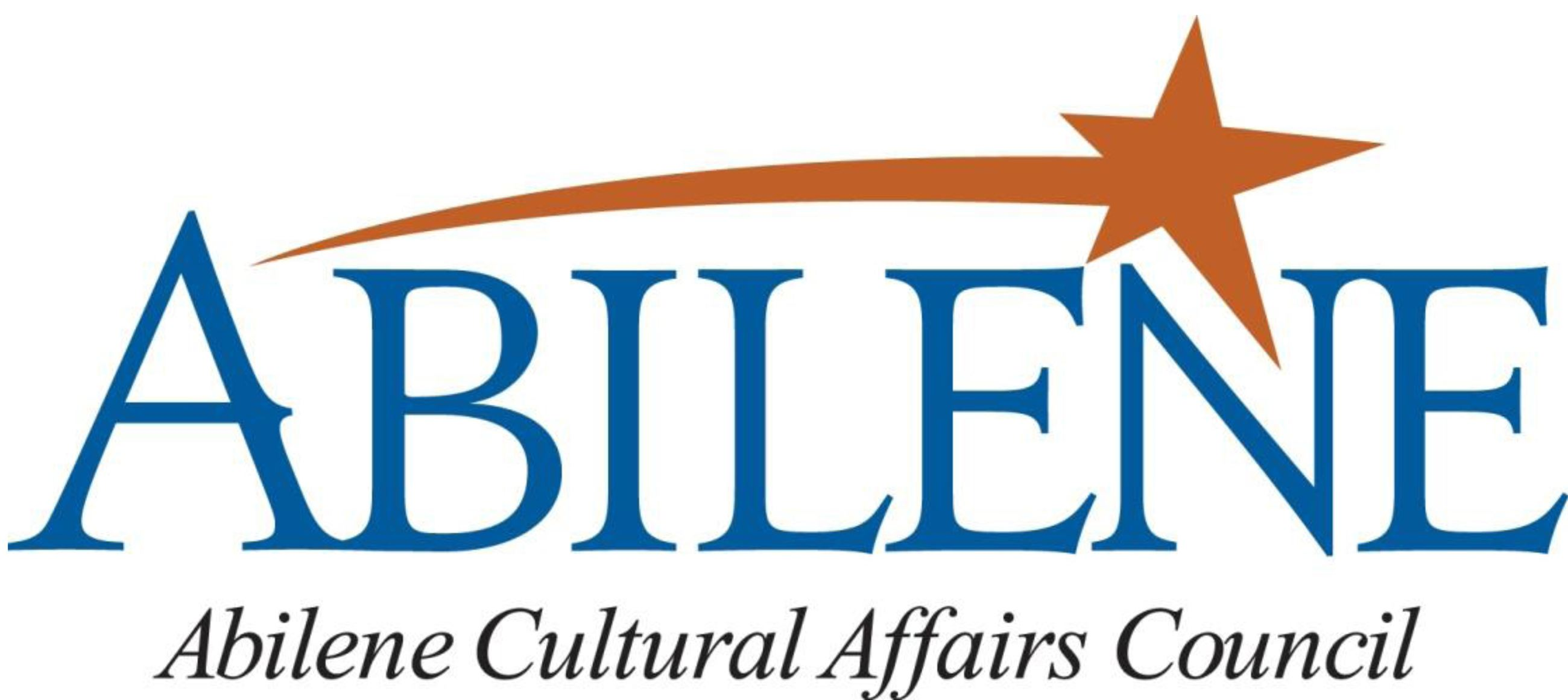 Graphic design image of logo for Abilene Cultural Affairs Council