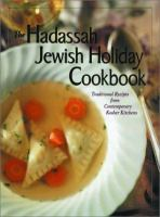The Hadassah Jewish Holiday Cookbook Book Cover