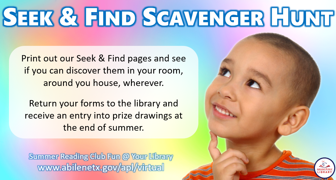 Hispanic Boy in Scavenger Hunt Infographic