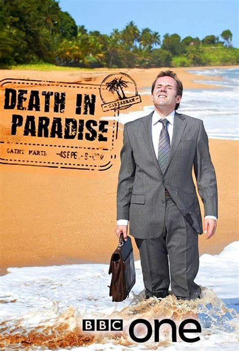 Death in Paradise DVD Cover