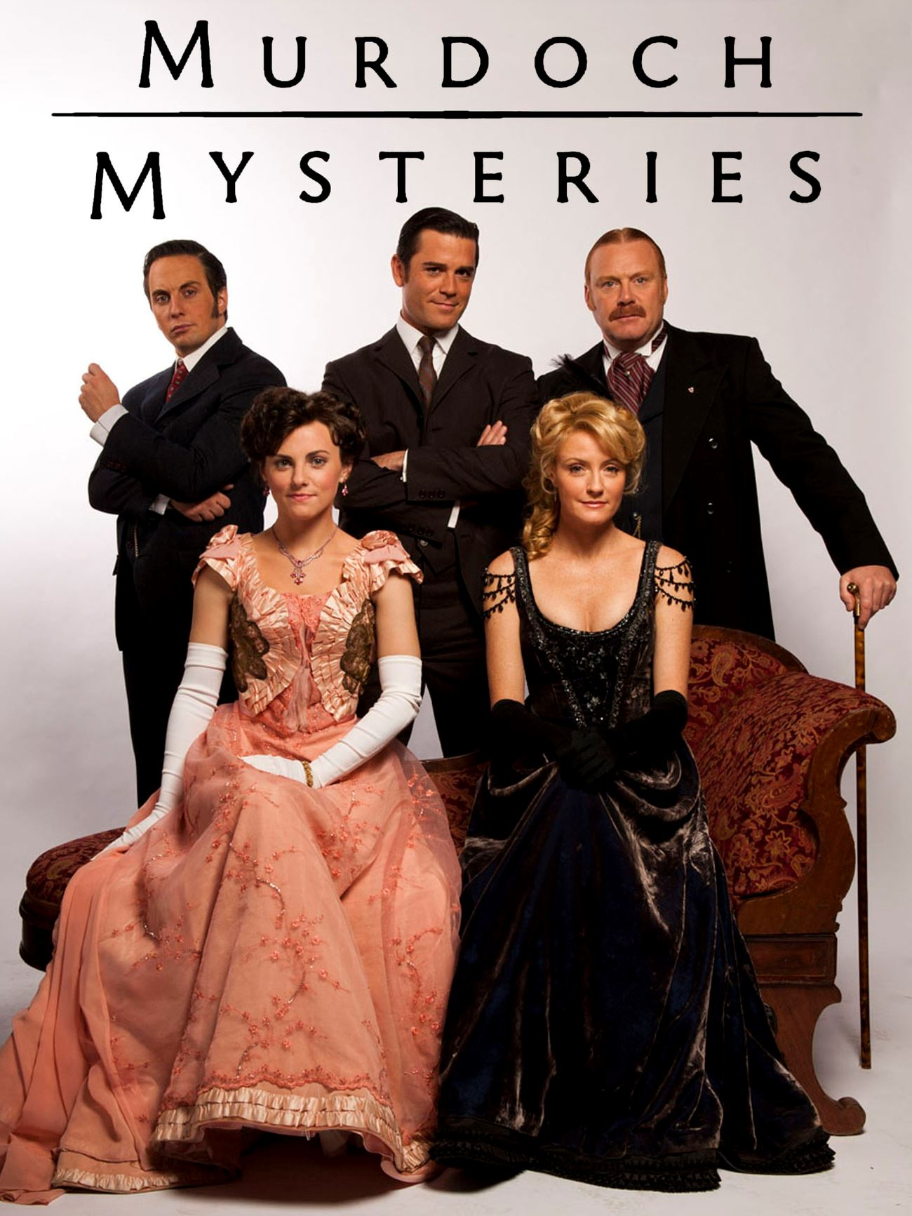 Murdoch Mysteries DVD Cover