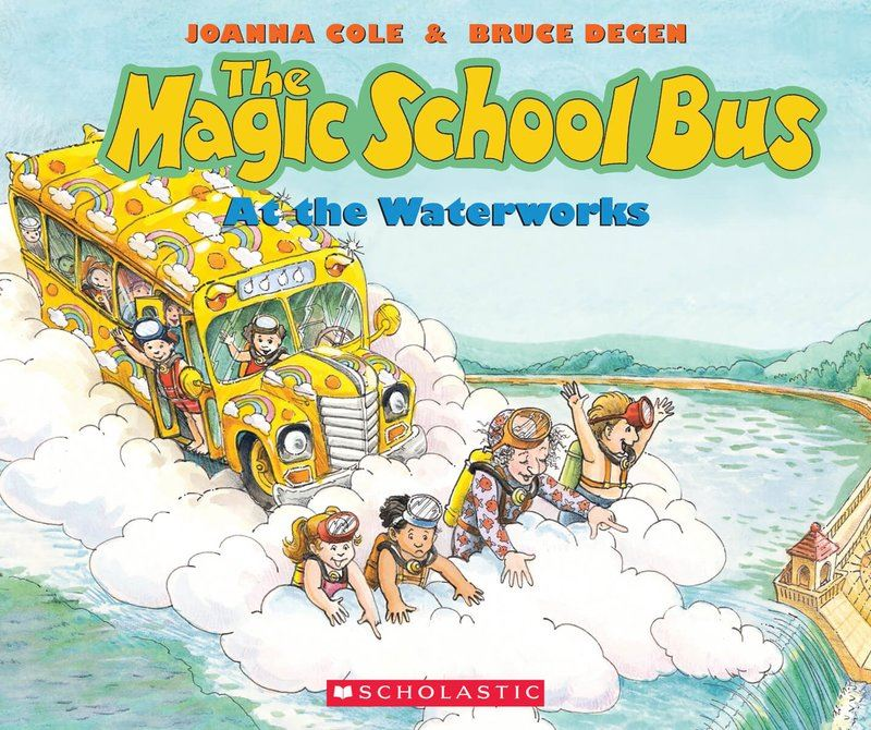 Magic School Bus at the Waterworks Book Cover